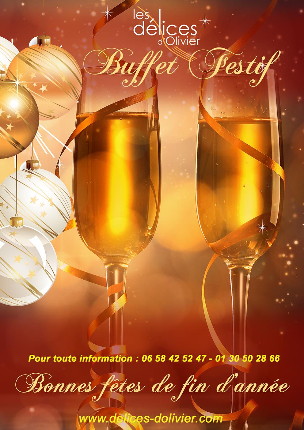 Buffet italien Délices d'Olivier
